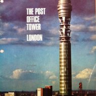 Post Office Tower, London 1966 Souvenir Brochure