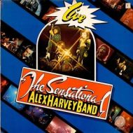 Sensational Alex Harvey Band – Live! LP – Vertigo Stereo 1976