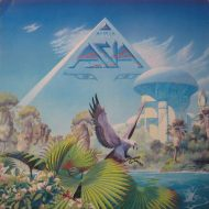 Asia – 'Alpha' LP – Geffen Records Stereo 1983